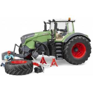 車 おもちゃ 農業 トラクター BRUDER ブルーダー Fendt1050 Varioトラクター(整備士フィギュア付き)04041|morinokobito
