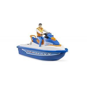 車 おもちゃ BRUDER ブルーダー b-world 水上オートバイク(フィギュア付き) BR63150|morinokobito|03