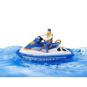 車 おもちゃ BRUDER ブルーダー b-world 水上オートバイク(フィギュア付き) BR63150|morinokobito|05