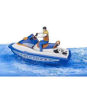 車 おもちゃ BRUDER ブルーダー b-world 水上オートバイク(フィギュア付き) BR63150|morinokobito|06