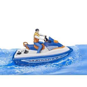 車 おもちゃ BRUDER ブルーダー b-world 水上オートバイク(フィギュア付き) BR63150|morinokobito|07