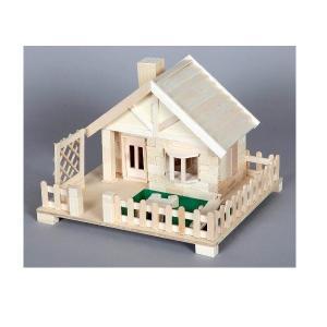 加賀谷木材 芝生のある家 木工工作キット|morinokobito