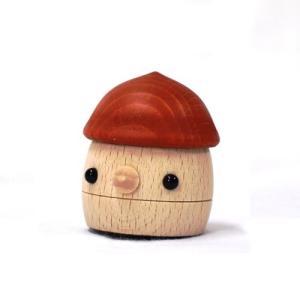 おもちゃのこまーむ どんぐりころころ(赤)|morinokobito