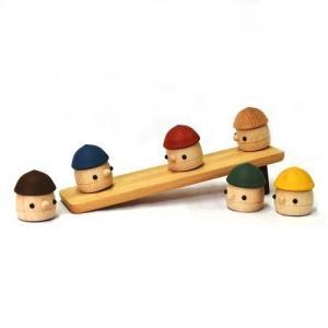 おもちゃのこまーむ どんぐりころころ(ブラウン)|morinokobito