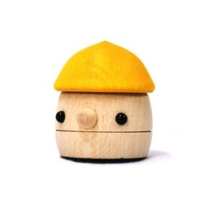 おもちゃのこまーむ どんぐりころころ(イエロー)|morinokobito