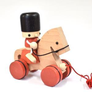 おもちゃのこまーむ 兵隊トビー&馬のボコ|morinokobito