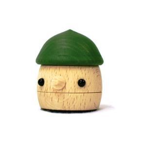 おもちゃのこまーむ どんぐりころころ(グリーン)|morinokobito