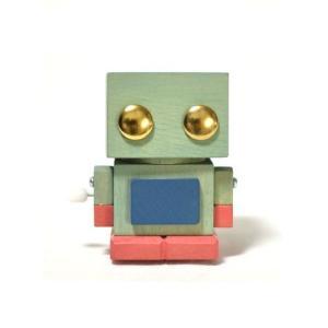 おもちゃのこまーむ ブリ木ロボット(ミント)03|morinokobito
