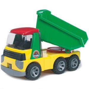 はたらく車 おもちゃ 1/16 ダンプカー BRUDER(ブルーダー) ROADMAX Tip up トラック 20000|morinokobito