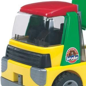 はたらく車 おもちゃ 1/16 ダンプカー BRUDER(ブルーダー) ROADMAX Tip up トラック 20000|morinokobito|02