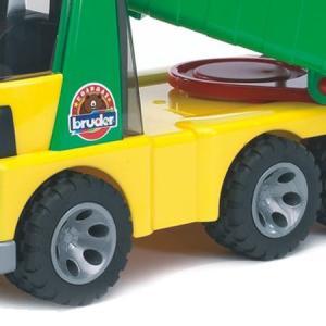 はたらく車 おもちゃ 1/16 ダンプカー BRUDER(ブルーダー) ROADMAX Tip up トラック 20000|morinokobito|04