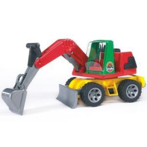 車 おもちゃ はたらく車 BRUDER ブルーダー ROADMAX パワーショベル 20050|morinokobito