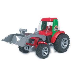 車 おもちゃ はたらく車 BRUDER ブルーダー ROADMAX  トラクターローダー 20102|morinokobito
