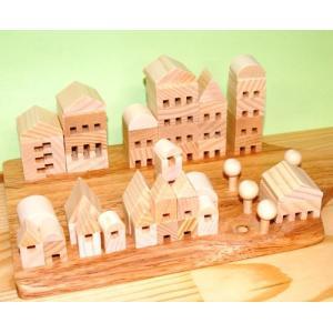 木工工作キット 加賀谷木材 つみきタウンmini|morinokobito