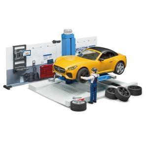 車 おもちゃ bruder ブルーダー b-world カーサービス 62110|morinokobito