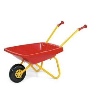 はたらく車 おもちゃ 砂遊び Rolly toys 一輪車 レッド|morinokobito