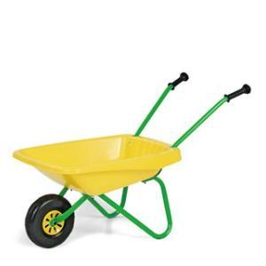はたらく車 おもちゃ 砂遊び Rolly Toys 一輪車 イエロー|morinokobito