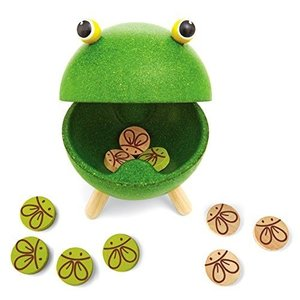 木 おもちゃ Plantoys プラントイ ゲーム 腹ペコカエル 4617|morinokobito|04