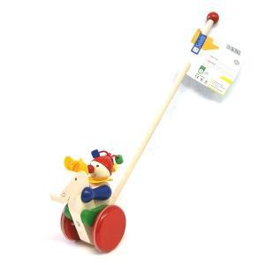 ベビーおもちゃ 木のおもちゃ プッシュトーイ SELECTA セレクタ 手押し・ギャロップ SE62029|morinokobito