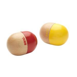 木のおもちゃ 幼児楽器おもちゃ BRIO シェイカーズ 30180|morinokobito