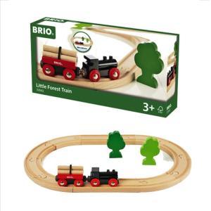 木のおもちゃ 汽車レール BRIO 小さな森の基本レールセット 33042|morinokobito