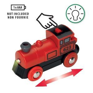 汽車 レール BRIO ブリオ バッテリーパワー機関車ファームレールセット 33043|morinokobito|04