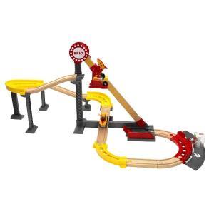 木のおもちゃ 汽車レール スロープトイ BRIO ローラーコースターセット 33730 morinokobito