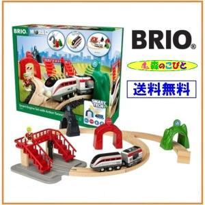 汽車 レール BRIO WORLD スマートテック アクショントンネルトラベルセット 33873