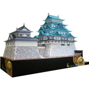 ファセット 復元 幕末 名古屋城 ペーパークラフト 日本名城シリーズ1/300 (2)【代引き不可】|morinokobito