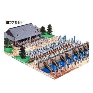 ジオラマペーパークラフト 戦国の合戦 ファセット 本能寺の変|morinokobito