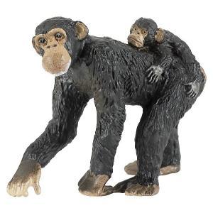 PAPO 動物フィギュア WILD チンパンジー 50012 morinokobito