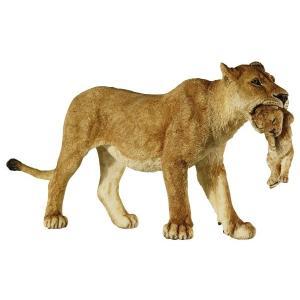 動物フィギュア PAPO WILD ライオンの親子 50043|morinokobito