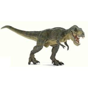 恐竜 フィギュア PAPO パポ DINOSAURS T-レックス 緑(走) 55027|morinokobito