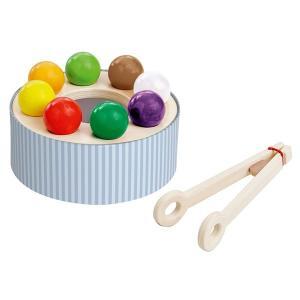 木のおもちゃ 知育玩具 HABA ハバ レインボーサラダ WF158790|morinokobito