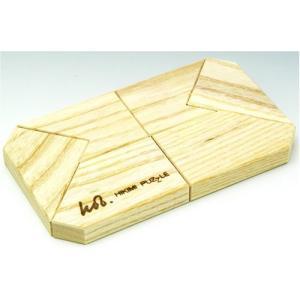 匹見パズル The F 日本製木製パズル|morinokobito