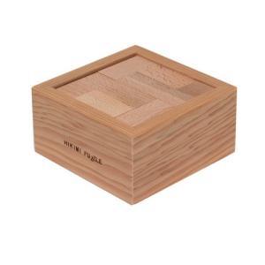 匹見パズル テトラ 日本製木製パズル morinokobito