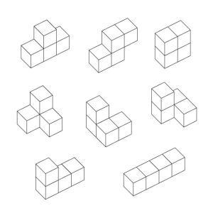 匹見パズル テトラ 日本製木製パズル morinokobito 02