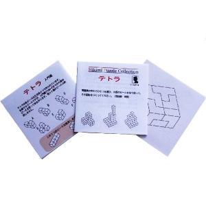 匹見パズル テトラ 日本製木製パズル morinokobito 04
