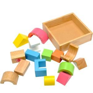 積み木 木のおもちゃ ベビー 10か月 エデュテ SOUND ブロックス LA-002|morinokobito|02