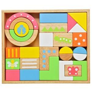 木のおもちゃ 積木 知育 エデュテ SOUND ブロックス LARGE LA-008|morinokobito