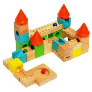 カラフルキャッスル S534A 木のおもちゃ 知育玩具 ボイラ|morinokobito
