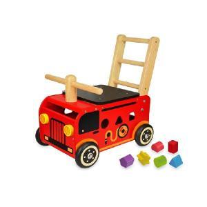 アイムトイ I'm toy ウォーカー&ライド消防車 IM-87480|morinokobito