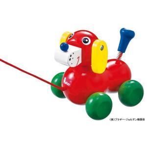 木のおもちゃ プルトイ NIC ニック いぬのヴァルディ NC63651|morinokobito