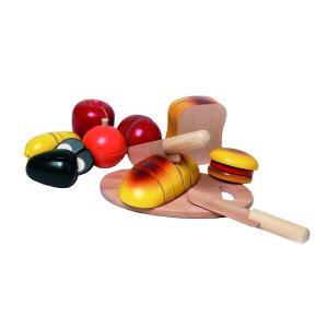 木のおもちゃ ままごと NIC ニック カッティング・ブレッド NC65050 morinokobito