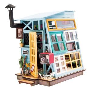 DIY つくるんです! ちょっと小ぶりなミニチュアハウスキット ミニハウス 木の小屋 DGM03【日本語説明書付き】 morinokobito