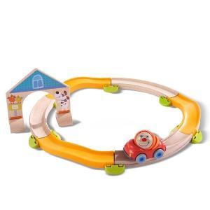 木のおもちゃ 玉ころがし 積み木  知育玩具 HABA クラビュー・スターターセット HA302057 morinokobito