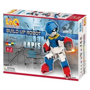 LaQ ラキュー ブロック ビルドアップロボ ラピスBUR-01 morinokobito