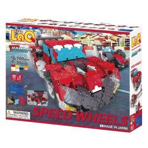 LaQ ラキュー ブロック ハマクロンコンストラクター スピードホイールズ L005540 morinokobito
