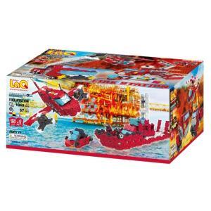 ヨシリツ ブロック 知育玩具 LaQ ラキュー ハマクロンコンストラクター ファイヤーステーション L006974 morinokobito