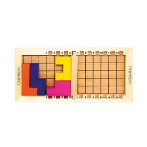 木のおもちゃ パズル ゲーム Gigamic ギガミック KATAMINO カタミノ GK-001|morinokobito
